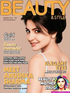 Anushka Sharma on the cover of Beauty & Style magazine