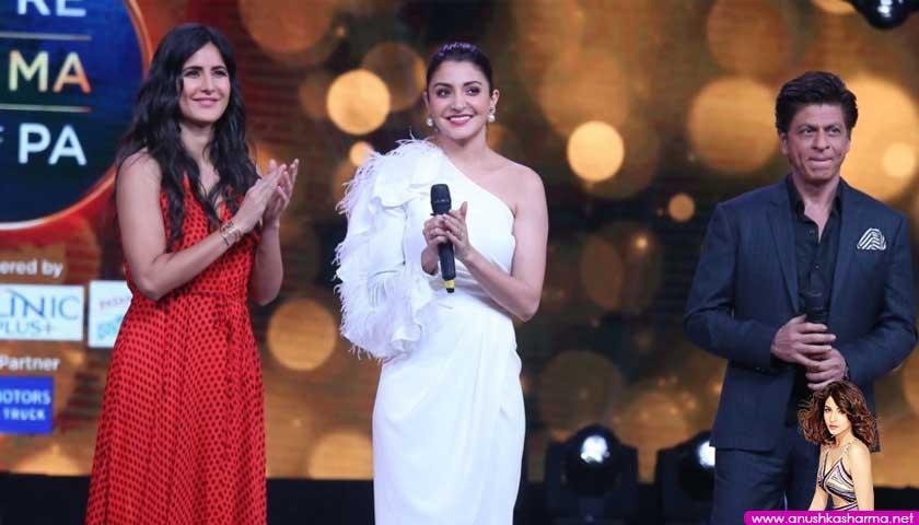 Shah Rukh Khan, Anushka Sharma, Katrina Kaif