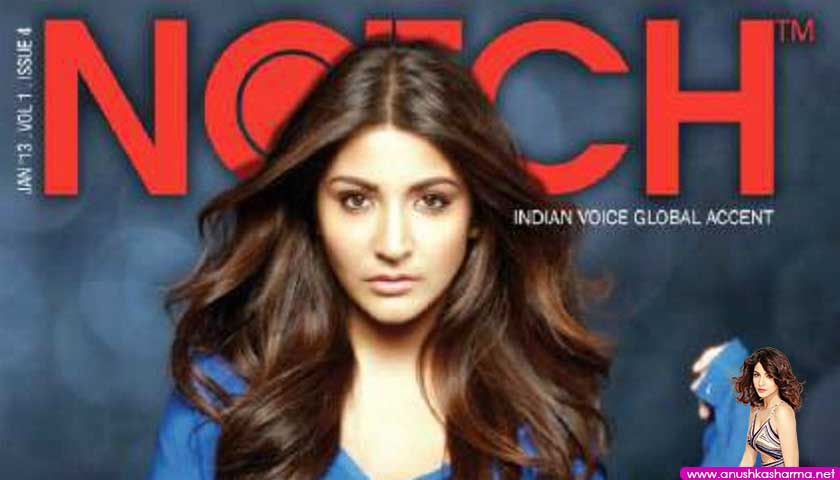 Anushka Sharma, Notch Magazine Jan 2013