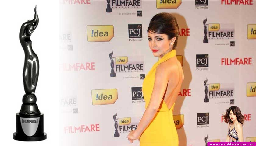 anushka sharma, idea filmfare 2013