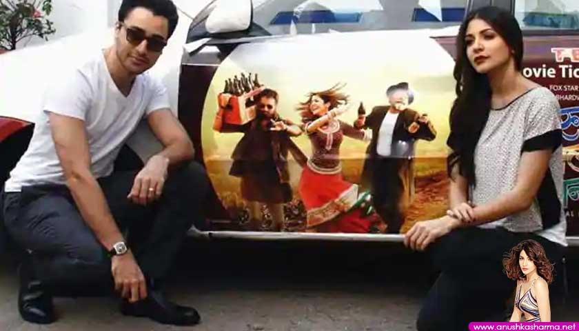 anushka sharma and imran khan promote matru ki bijlee ka mandola