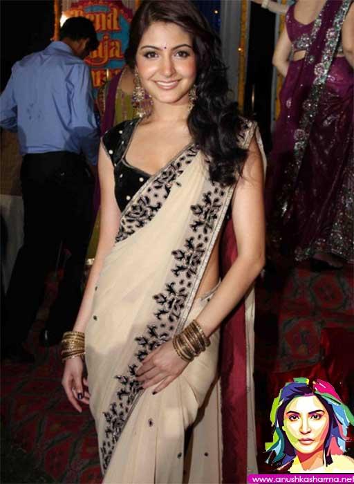 Anushka Sharma in sari