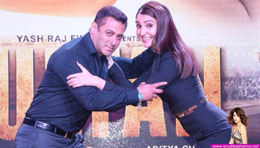 Anushka Sharma, Salman Khan, SULTAN