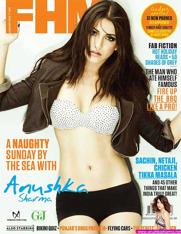 nushka Sharma on FHM Cover