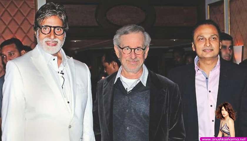 Amitabh Bachchan, Steven Spielberg