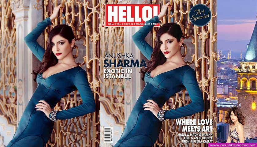 Anushka Sharma covers Hello Magazine