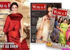 "Anushka Sharma On The Cover Of ""You & I"" Magazine"