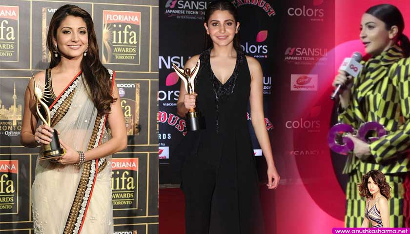 Anushka Sharma awards and nominations