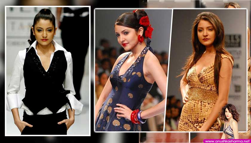Anushka Sharma modelling career