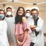 anushka sharma, hospital check