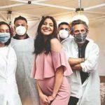 anushka sharma, hospital check